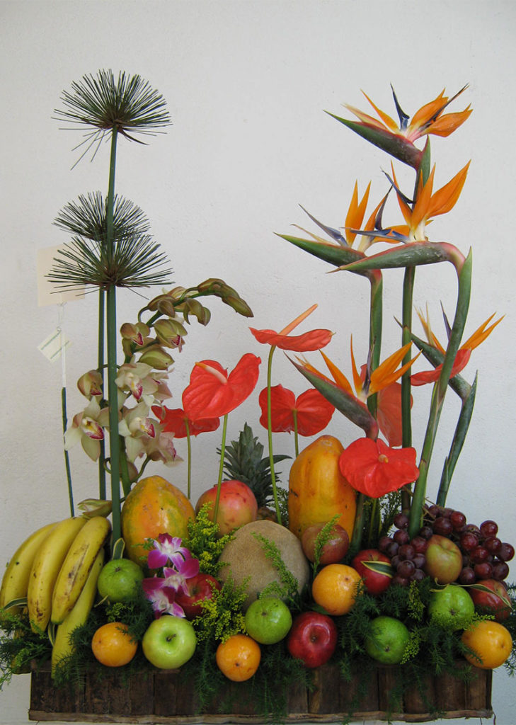 Arreglos con frutas 21